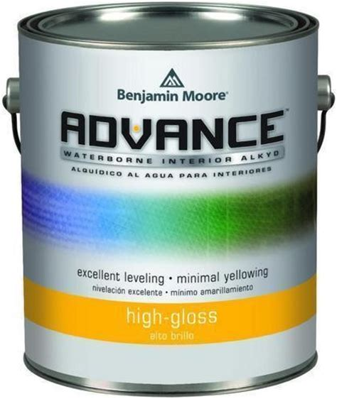 High Gloss Interior Paint by Benjamin Moore 794 Advance Waterborne Alkyd Interior High