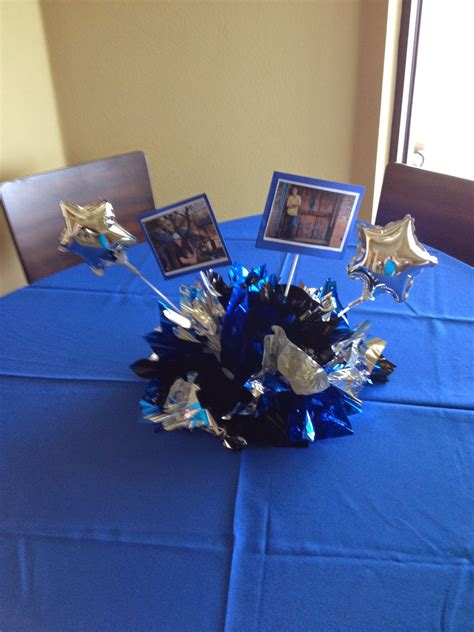 graduation balloon centerpieces event decorating company fabric and balloon