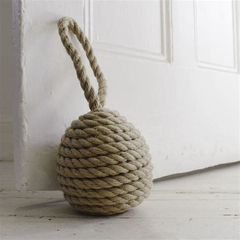 buy rope ball doorstops the worm that turned