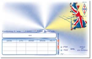 print of all kinds of qsl cards