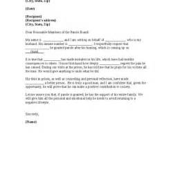 Support Parole Letter Sle How To Write A Letter To A Parole Board Docoments Ojazlink