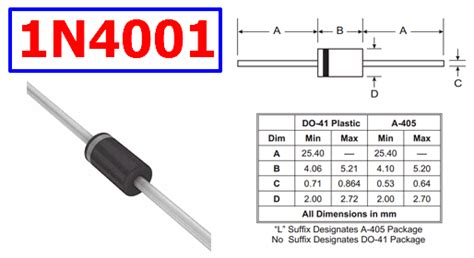 diode 1n4007 function diode 1n4001 function 28 images capacitor power supply circuit diode 1n4001 miniatuura