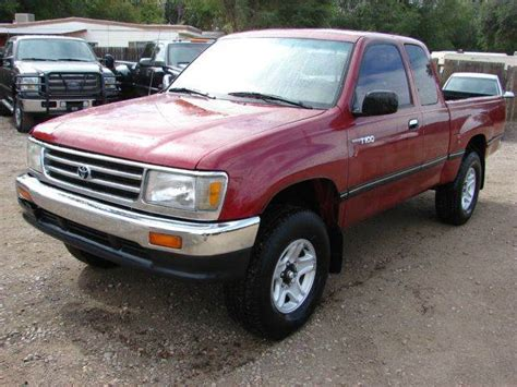 1998 Toyota T100 1998 Toyota T100 Dx 2dr 4wd Extended Cab Sb In Fort