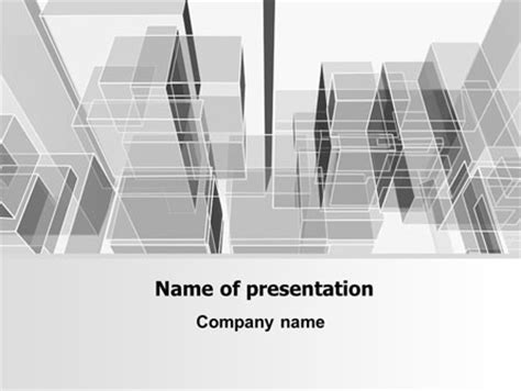 architecture powerpoint templates abstract architecture presentation template for powerpoint