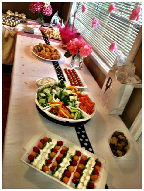 Food For Bridal Shower by Bridal Shower Food Themes Ideas