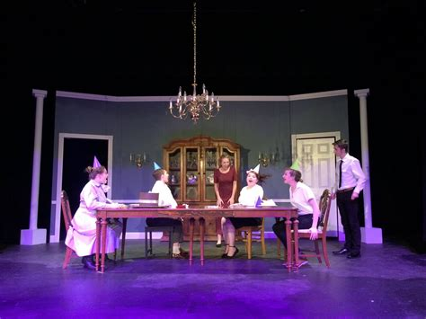 la center high school theatre presents the dining room