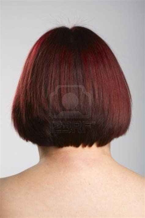 back view of wedge haircut styles bob hairstyle cut wedged in back back view of 45 degree