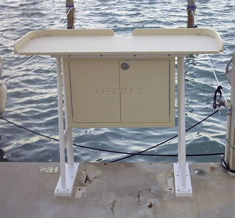 fish cleaning tables king starboard fish cleaning station 54 quot x 23 quot top welded aluminum base useful options