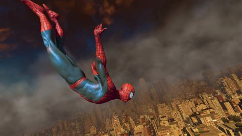 spider man swinging game amazing spider man 2 footage shows web swinging combat
