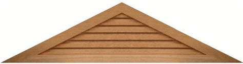 Triangular Gable 6 12 Pitch Triangle Gable Vent