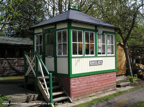 signal shed cross keys signal box is an entrant for shed of the year