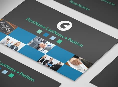 Business Card Template For Portfolio by Portfolio Management Firm Business Card Template