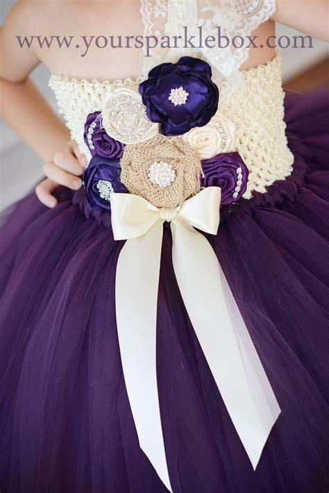 Lapis Tutu plum lapis and ivory tutu dress by yoursparklebox