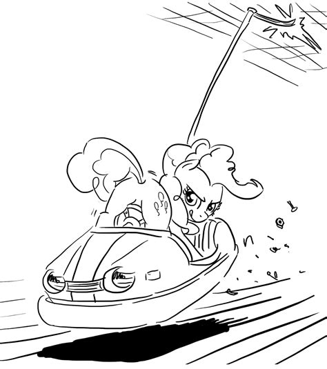 bumper cars coloring pages 332683 pose amusement park artist king kakapo