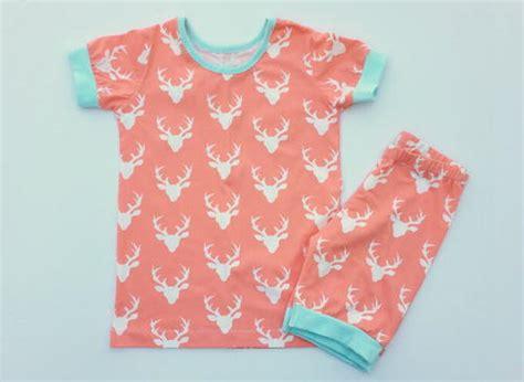 jersey pajama pattern short sleeve pajama pattern for kids allfreesewing com