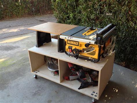 table  cart  workstation  hw  lumberjocks