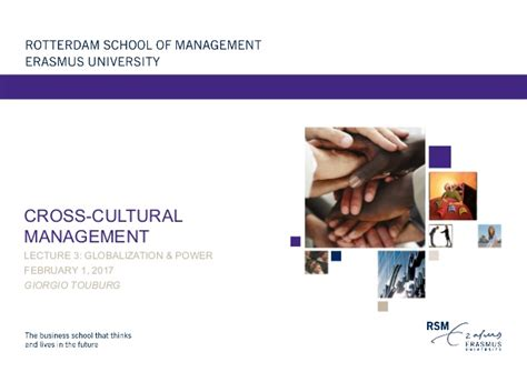 Cross Cultural Management 1 cross cultural management lecture 3 globalization