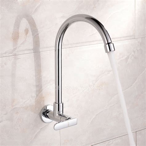 Discount Kitchen Faucets discount rotatable wall mount kitchen faucet for cold water