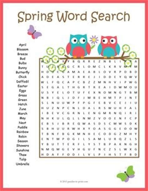 printable word search about spring spring word search revel in the joy of springtime with a