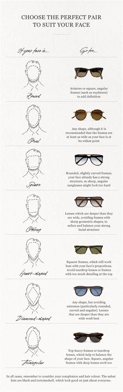 glasses for your face shape best men s sunglasses for your face shape mensfash