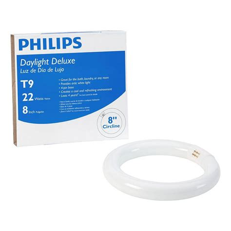 Lu Neon Philips 11 Watt philips 8 in 22 watt t9 daylight deluxe 6500k circline