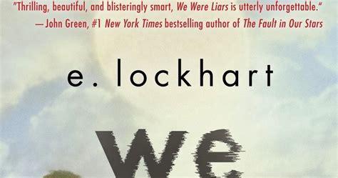 libro we were liars vagabundeando entre libros we were liars e lockhart