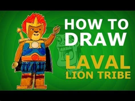 How To Make A Lava L With Salt by How To Draw Laval Legends Of Chima Step By Step Hd