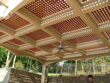 Deck Railing Designs With Lattice - lattice deck railing ideas vinyl lattice design ideas