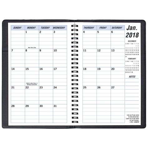2018 weekly planner monthly calendar schedule organizer and journal notebook with inspirational quotes and lettering llama cover books continental medium softcover 2018 monthly planner