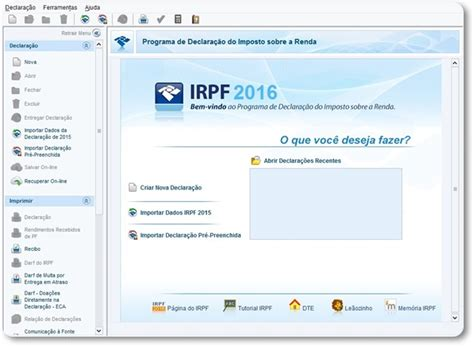 declaracao do imposto de renda do inss 2016 new style declara 231 227 o do irpf 2016 download
