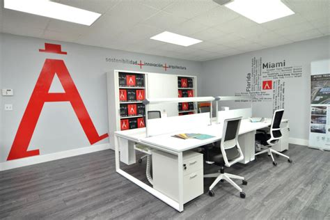 actiu offices miami florida 187 retail design