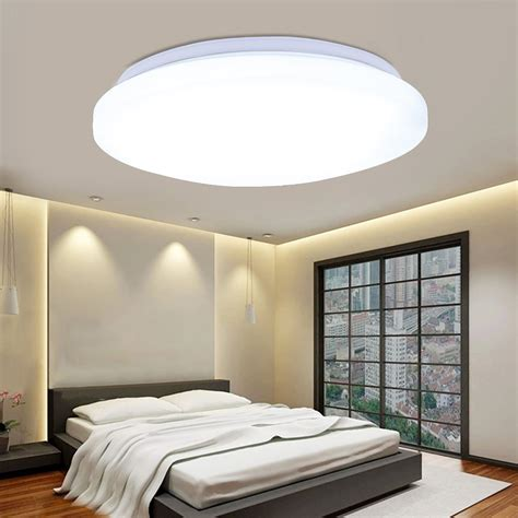 Living Room Ceiling Light Fixture 24w Led Ceiling Light Flush Mount Fixture For Bedroom Living Room Kitchen Ebay