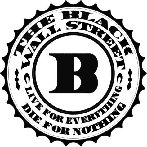street logos street graphics black wall street logo psd officialpsds
