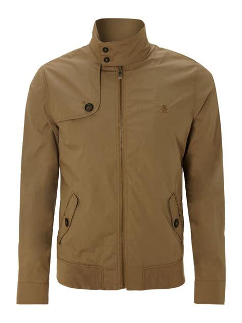 Jaket Harrington Redcalmer Original Brown 1 original penguin harrington jacket in khaki for brown