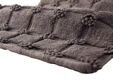 tappeti bagno design tappeto bagno tender grigio touffe 50x80