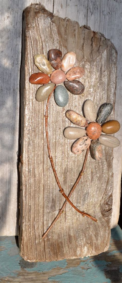rustic craft projects 13 creative diy home decor ideas with pebbles and river rocks