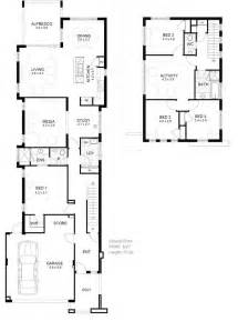 Narrow Floor Plans 9m Narrow Block House Designs Google Search New Homes