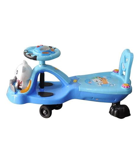 swing car for kids brunte blue magic swing car for kids buy brunte blue