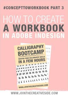 Workbook Template Indesign by How To Create Your Own Worksheets In Adobe Indesign