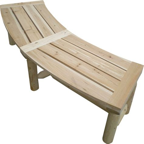 curved pit bench stonegate designs outdoor wooden pit bench model t