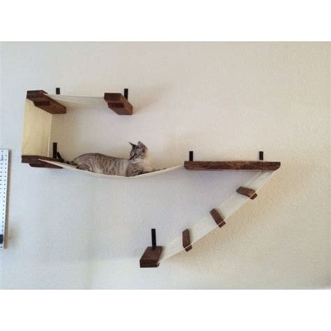 deluxe cat wall play place animal