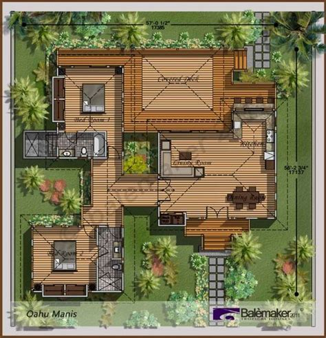 tropical house designs and floor plans bali style house plans astounding bali houses oahu manis