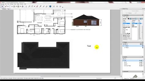 youtube layout sketchup layout sketchup introductory tutorial and plusspec model