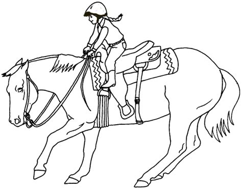 coloring page girl riding horse girl riding horse coloring pages coloring pages for free