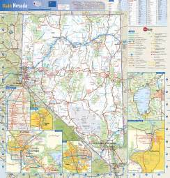 road map of nevada and arizona nevada state wall map by globe turner