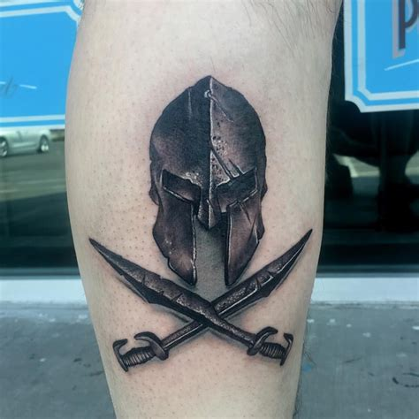 spartan helmet tattoo quot mi piace quot 8 commenti 1 chris conant tattoos by