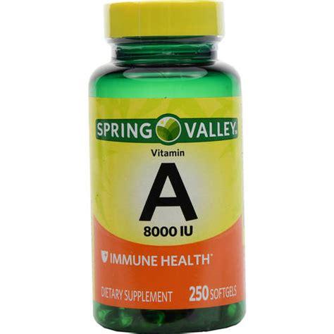 vitamin o supplement valley vitamin a 8000 iu dietary supplement