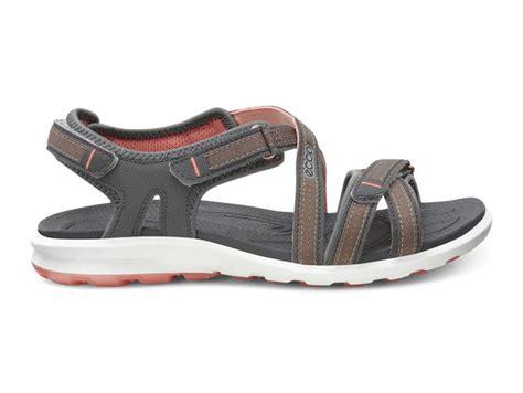 cruise sandal fashion ecco synthetic textile cruise sandal shadow