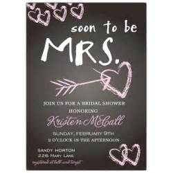 wedding shower invitation templates chalkboard bridal shower invitations paperstyle