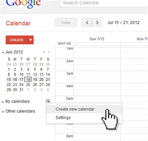 make a calendar of events create event calendar
